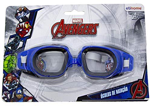 Oculos Natacao Splash Avengers Etitoys Oculos Natacao Splash Avengers Estampa Avengers