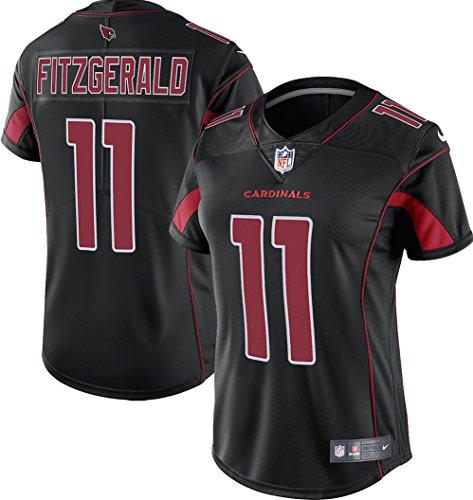 Larry Fitzgerald Arizona Cardinals Nike Women's Color Rush Limited Jersey (Black, Medium) Nike Cardinal Football Jersey
