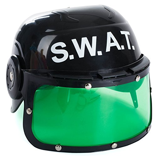Funny Party Hats Swat Helmet for Kids - Police Swat Helmet - Dress Up Hats - Costume Hats - Police Helmet]()