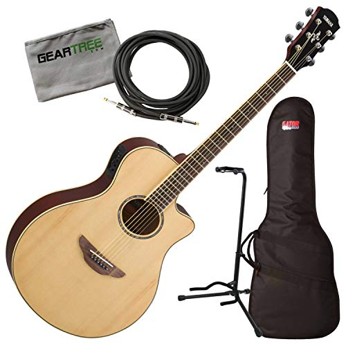 Yamaha APX600 NA Natural Thin Body Acoustic-Electric for sale  Delivered anywhere in USA