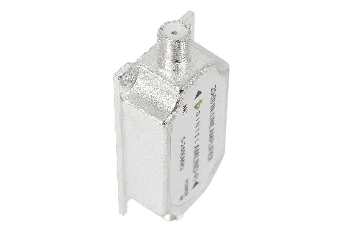 Dintel Amplificador de l/ínea TDT+SAT/ÉLITE 15dB-20dB
