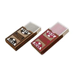 Vosarea 2 Pacchetti di Carte da Gioco in PVC Impermeabile Set Poker Classic Classic Tricks Tool