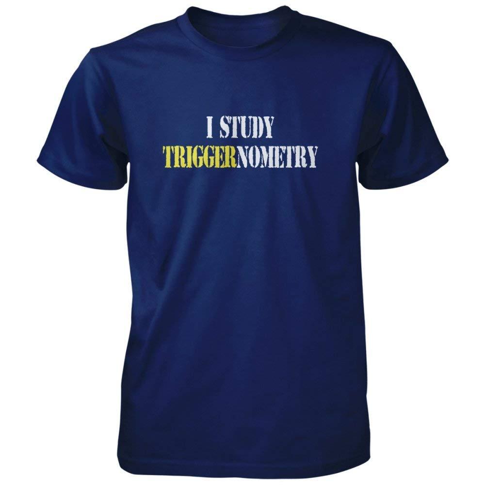 e9b32b74 Amazon.com: Vine Fresh Tees - I Study Triggernometry T-Shirt: Clothing