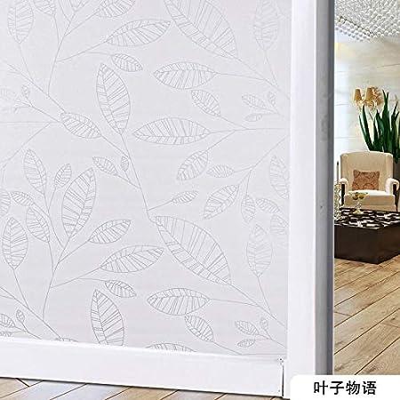 Yirenfeng Transmisión de luz opaca de la ventana de la ventana opaca del vidrio de la lamina del vidrio del suelo de la laminación de cristal autoadhesiva, I: Amazon.es: Bricolaje y herramientas