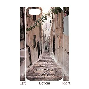 3D Bumper Plastic Case Of Road customized case For Iphone 4/4s