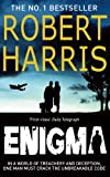 Front cover for the book Enigma by Robert Harris