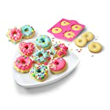 Real Cooking Sprinkled Mini Donuts Baking Set - 6 Pc. Kit Includes Cake Mix, Sprinkles & Candy