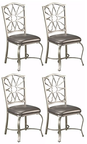 Ashley Furniture Signature Design - Shollyn Dining Room Chair - Silver