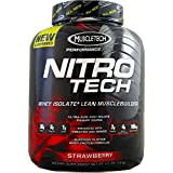 MuscleTech Nitro-Tech Performance Series, Strawberry, 4 lbs ( Multi-Pack)