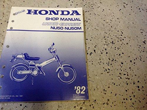 (1982 HONDA NU50 NU50M Urban Express Service Repair Shop Manual BRAND NEW)