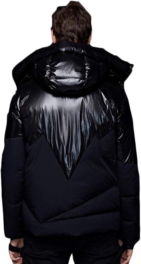 PFSYR Court Down Jacket Men Hiver épais Manteau Chaud en
