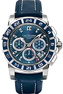 Carl F. Bucherer Patravi TravelGraph GMT Chrono Men's Watch 00.10618.13.53.01