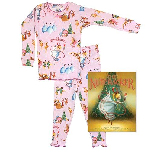 Price comparison product image Books to Bed Girls' Nutcracker Christmas Pajama and Book Gift Set (2T)