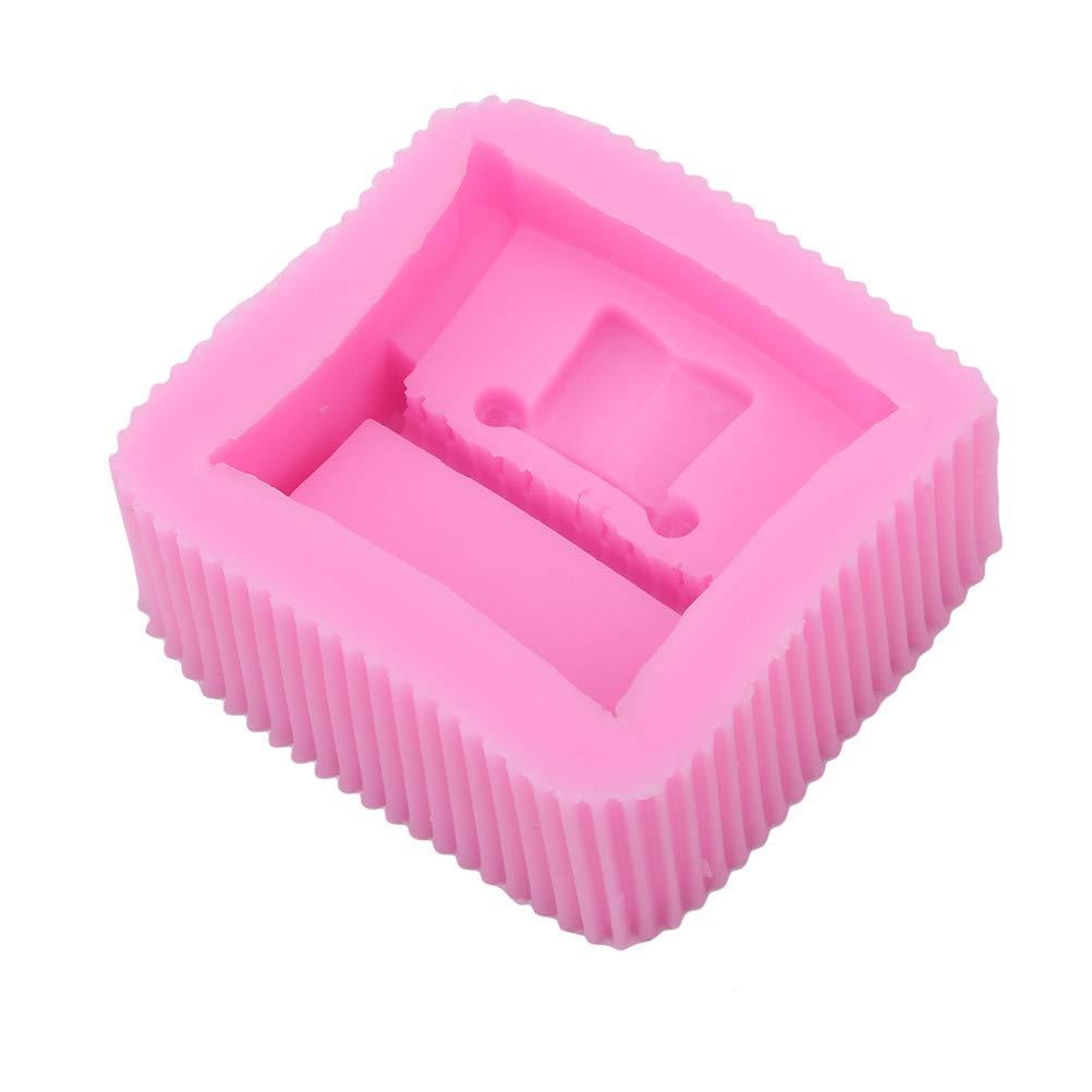 JIFNCR backform lustige rosa Klavier geformt handgemachte DIY kuchenform Fondant Kuchen schm/ücken Praline Cookies Party Geschenk