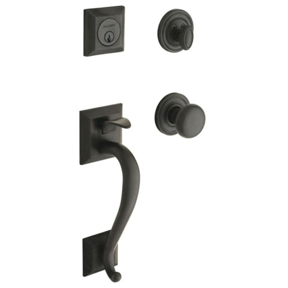 Baldwin 85320.102.ENTR Hardware Handle Set - Door Handles - Amazon.com