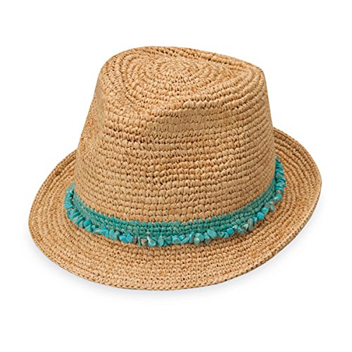Wallaroo Hat Company Women's Tahiti Sun Hat - Fedora-Style Sun Hat, -