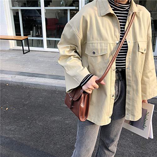Tops Moda Risvolto Casual Onlyoustyle Outerwear Cappotto Cime Sciolto Primavera Donne Jacket Vento Albicocca Lunga Giacca Manica Autunno Coat Giacche A 1fwqaSqCx