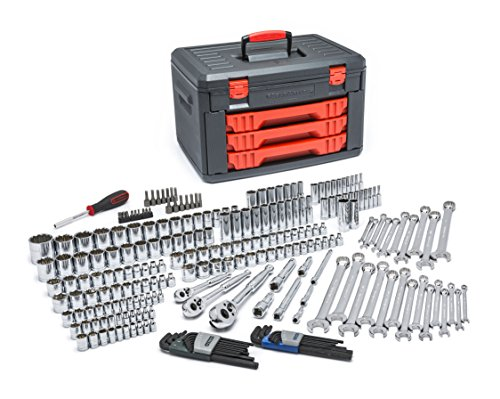 KD Tools KDT 80942 239-Piece SAE/Metric Socket and Ratchet Set