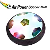 air ball toy - BONAOK Kids Toys Air Power Soccer Ball,Christmas Gift Kids Disk Hover Ball Equipped With LED Lights, Sports Toys With Foam Bumpers,Indoor or Outdoor Activities