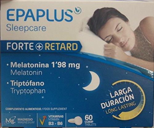 Suplemento para Dormir con Melatonina y Triptófano, Larga Duración, 60 Comprimidoshttps://amzn.to/2zTllUr