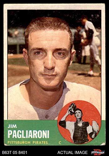 1963 Topps # 159 Jim Pagliaroni Pittsburgh Pirates (Baseball Card) Dean's Cards 2 - GOOD Pirates