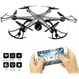 MULGORE Drone Toy with HD Camera 2.4G 6-Axis and Headless Mode 360° Rolling Drone