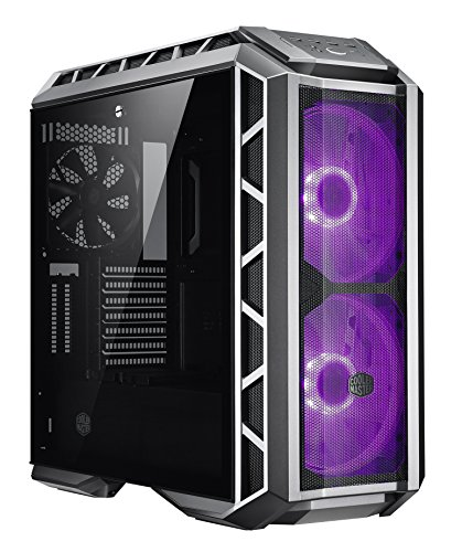 Cooler Master MasterCase H500P Mesh Computer Case High Air Flow Mesh Front, RGB LED, Tempered Glass MCM-H500P-MGNN-S10