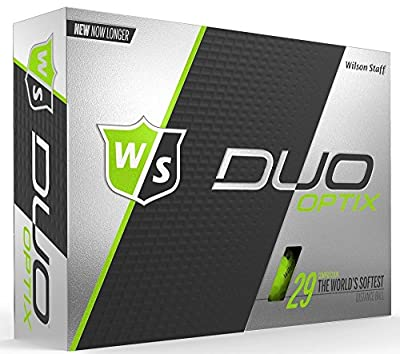 Wilson Staff Duo Soft Optix Golf Balls by Wilson