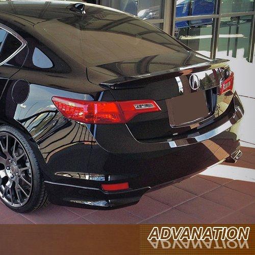 - 13-15 Acura ILX Flush Mount Rear Tail Trunk Lip Spoiler Wing Primer Unpainted