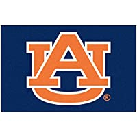 Fanmats NCAA Auburn University Tigers Nylon Face Starter Rug