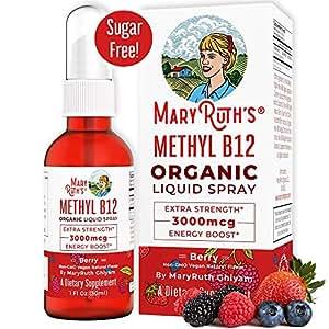 Amazon.com: MaryRuth Energy Boost B12 - Vaporizador líquido ...