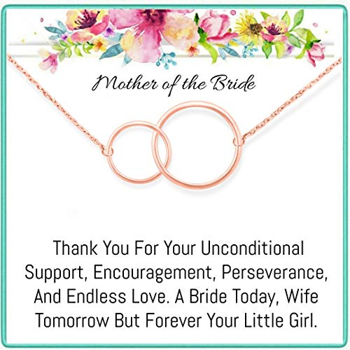 OnePurpose Mother of The Bride/Groom Gifts (Mother of The Bride Rose Gold)