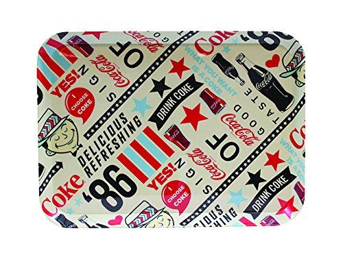 Tablecraft CC391 86 Graphic Design Coca-Cola Melamine Ser...