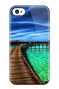 New Arrival Case Specially Design For Apple Iphone 5C Case Cover (the Beach Houses)