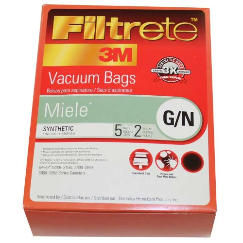 Filtrete Vacuum Bag Miele Bagged 2 / Bagged, 858 / Canister