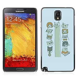 YOYOSHOP [Funny MEME CAT*s LOL KEYBOARD LONG] Samsung Galaxy Note 3 Case