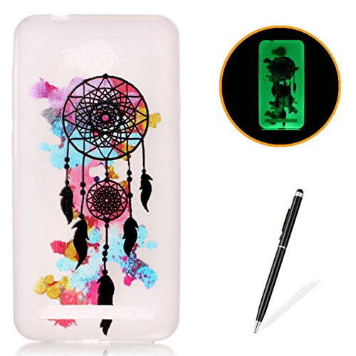 huawei-y3-ii-silicone-gel-case-with-free-black-touch-styluskasehom-luminous-effect-green-glow-in-the