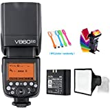 Godox V860II-C E-TTL HSS 1/8000s 2.4G GN60 Li-ion Battery Camera Flash speedlite for Canon EOS cameras + USB LED Free gift