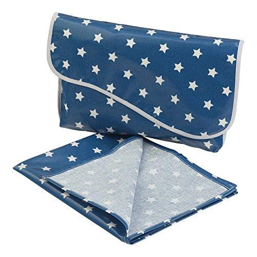 Messy Me Mini bolso cambiador y alfombrilla–muy compacto, ideal para caber en un bolso de mano o en un Carrito azul azul marino clásico azul (True Blue)