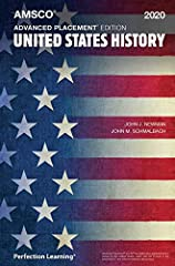 Equip your students to excel on the current AP United States History Exam. This new edition is correlated to the 2019 course exam description framework in the areas of historical thinking skills, reasoning processes, themes, and conten...