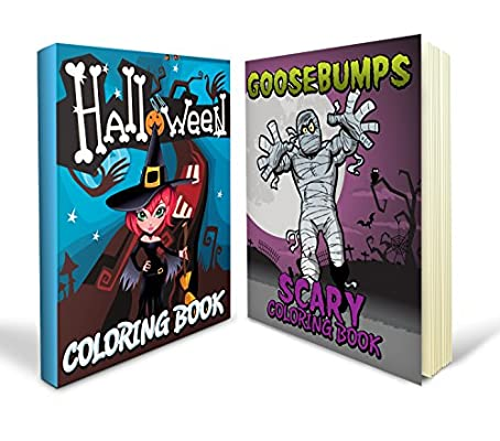 Halloween Coloring Pages Bundle Includes Scary and Goosebumps ...