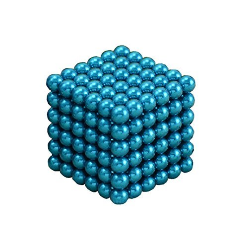 hongjj magic Balls Sculpture Toy - 5mm Large Size- (5mm, Light Blue)