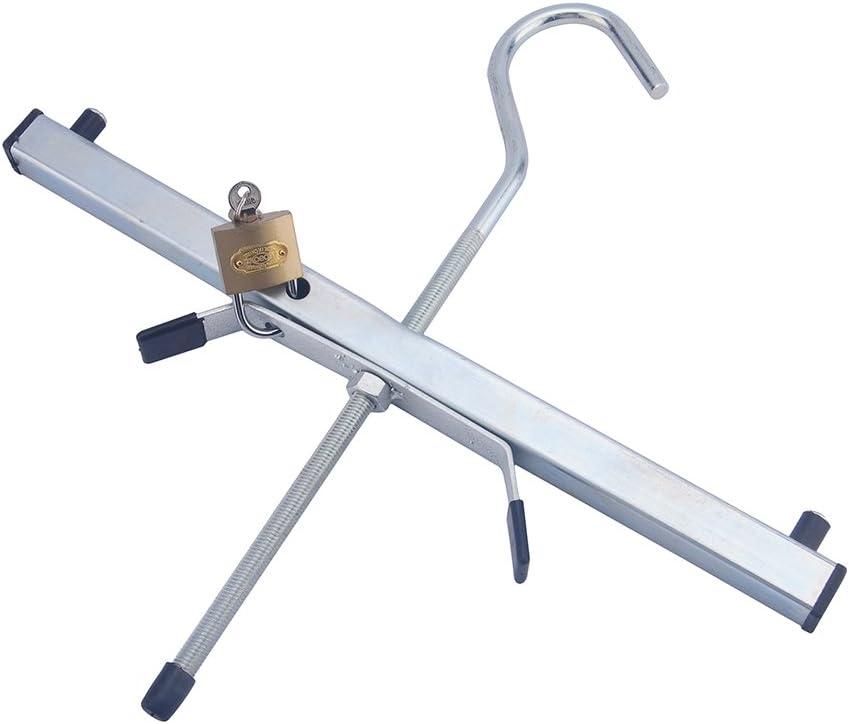 Yosoo Universal Abrazadera de Baca, Escalera de Abrazadera con Cerradura de Seguridad: Amazon.es: Bricolaje y herramientas