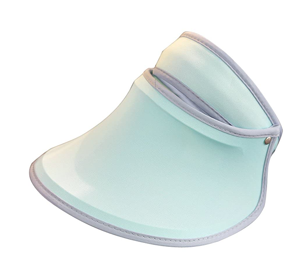 ACVIP Womens Macaron Colored Outdoor Jogging Exercises Sun Protection Visor Hat
