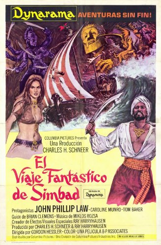7fc84f15aca Image Unavailable. Image not available for. Color: The Golden Voyage Of  Sinbad - Movie ...