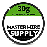 Nichrome 80 Wire Sample Pack 25' each