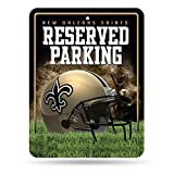 NFL New Orleans Saints 8-Inch by 11-Inch Metal