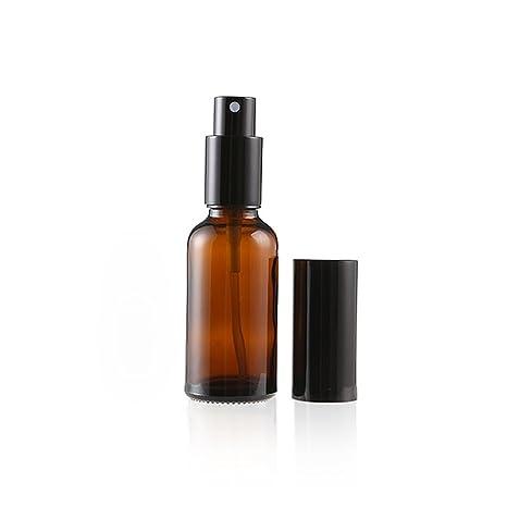 YFZYT Botellas de vidrio vacías con Atomiser Fine Spray para aceites esenciales, uso de aromaterapia
