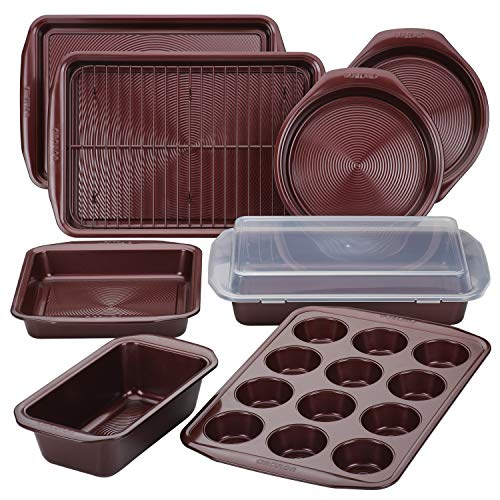 Circulon 47740 10-Piece Steel Bakeware Set