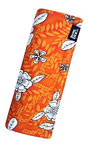 Shoulder Bug Seat Belt Shoulder Pad Hibiscus Orange by -